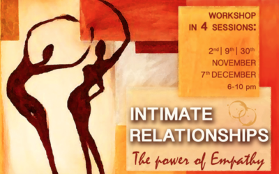 Intimate Relationships: The power of empathy – Geneva – 2nd/9th/30th Nov and 7th Dec